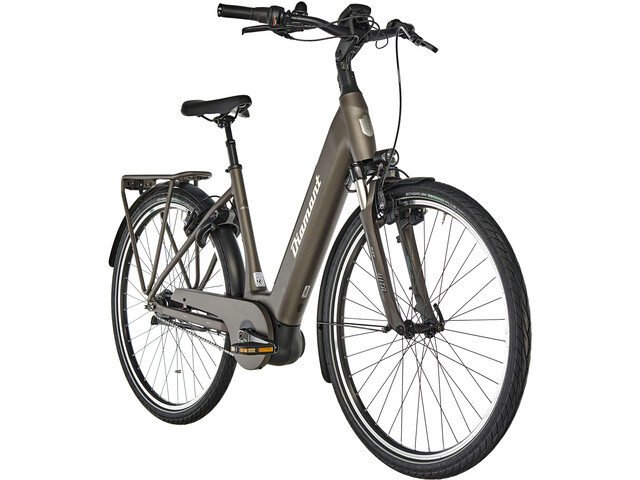 Diamant Onyx+ T E-trekkingcykel Easy Entry brun | City